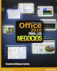 OFFICE 2010 PARA LOS NEGOCIOS