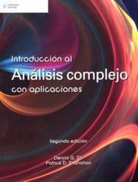 (2ª ED) INTRODUCCION AL ANALISIS COMPLEJO CON APLICACIONES