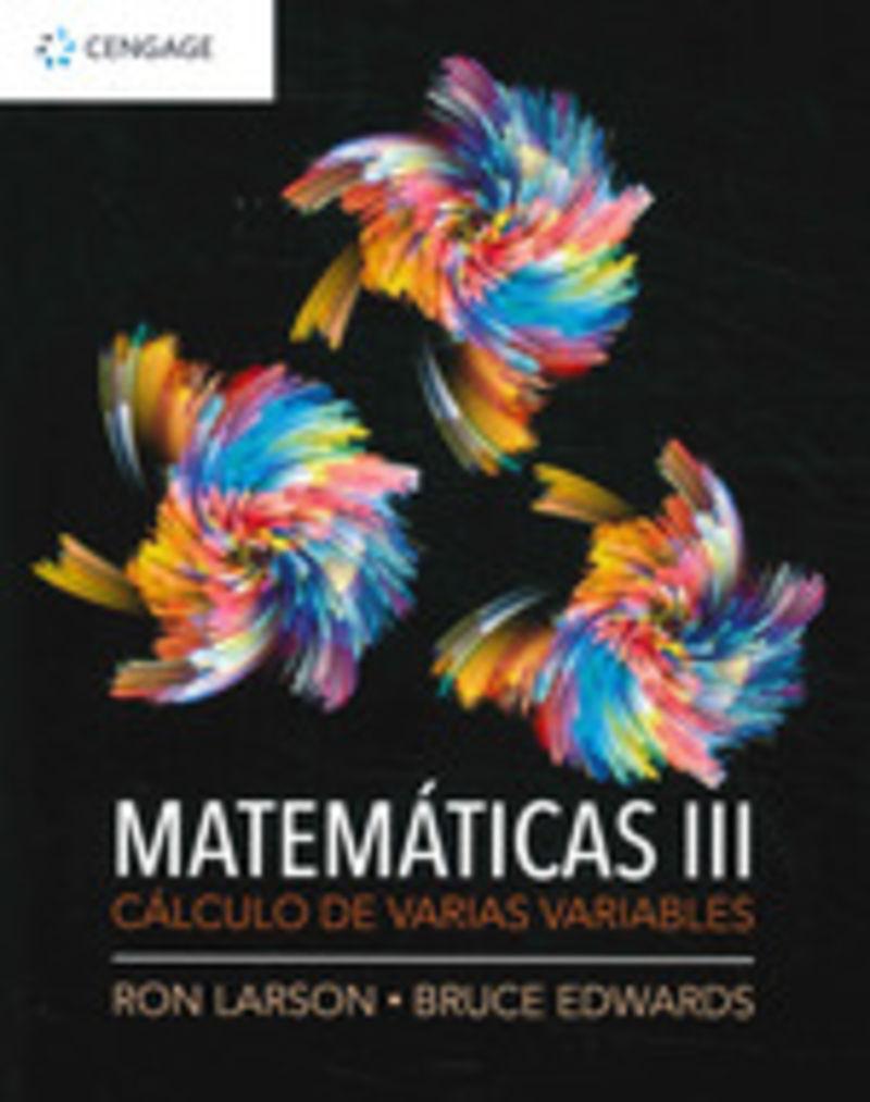MATEMATICAS III - CALCULO VARIAS VARIABLES
