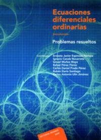 ECUACIONES DIFERENCIALES ORDINARIAS - PROBLEMAS RESUELTOS