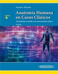 (4 ED) ANATOMIA HUMANA EN CASOS CLINICOS