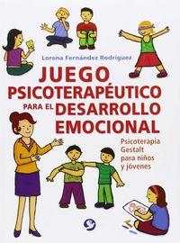 JUEGO PSICOTERAPUETICO PARA EL DESARROLLO EMOCIONAL