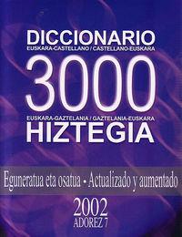 (cd-rom) Adorez 7 - Hiztegia 3000 - Batzuk