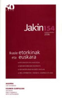 JAKIN ALDIZKARIA 154. Zka 2006ko MAIATZA / EKAINA