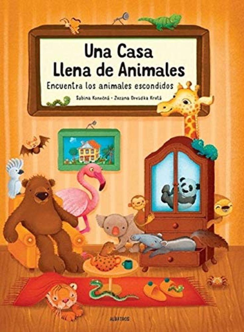 CASA LLENA DE ANIMALES, UNA - ENCUENTRA LOS ANIMALES ESCONDIDOS