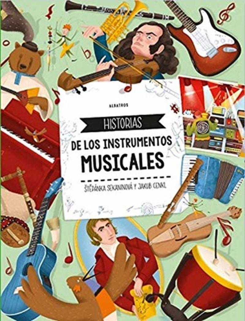 HISTORIAS DE LOS INSTRUMENTOS MUSICALES