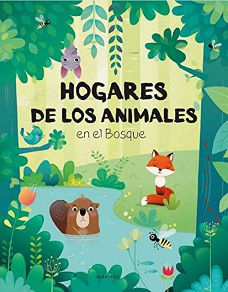 HOGARES DE LOS ANIMALES EN EL BOSQUE (POP-UP)