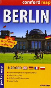 MAPA BERLIN - COMFORT 1: 20000 PLASTIFICADO