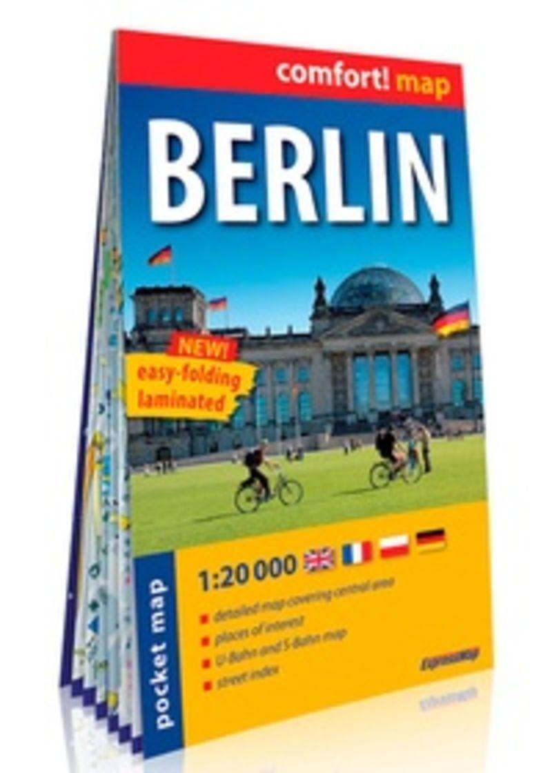 MAPA BERLIN - COMFORT 1: 120000 (PLASTIFICADO)