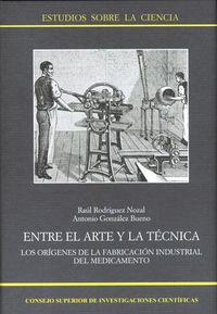 entre el arte y la tecnica - Raul Rodriguez Nozal / Antonio Gonzalez Bueno