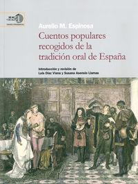 CUENTOS POPULARES RECOGIDOS DE LA TRADICION ORAL DE ESPAÑA
