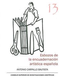 ESBOZOS DE LA ENCUADERNACION ARTISTICA ESPAÑOLA