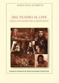 Del Teatro Al Cine - Maria Vives Agurruza