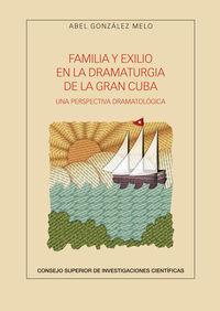 Familia Y Exilio En La Dramaturgia De La Gran Cuba - Una Perspectiva Dramatologica - Abel Gonzalez Melo