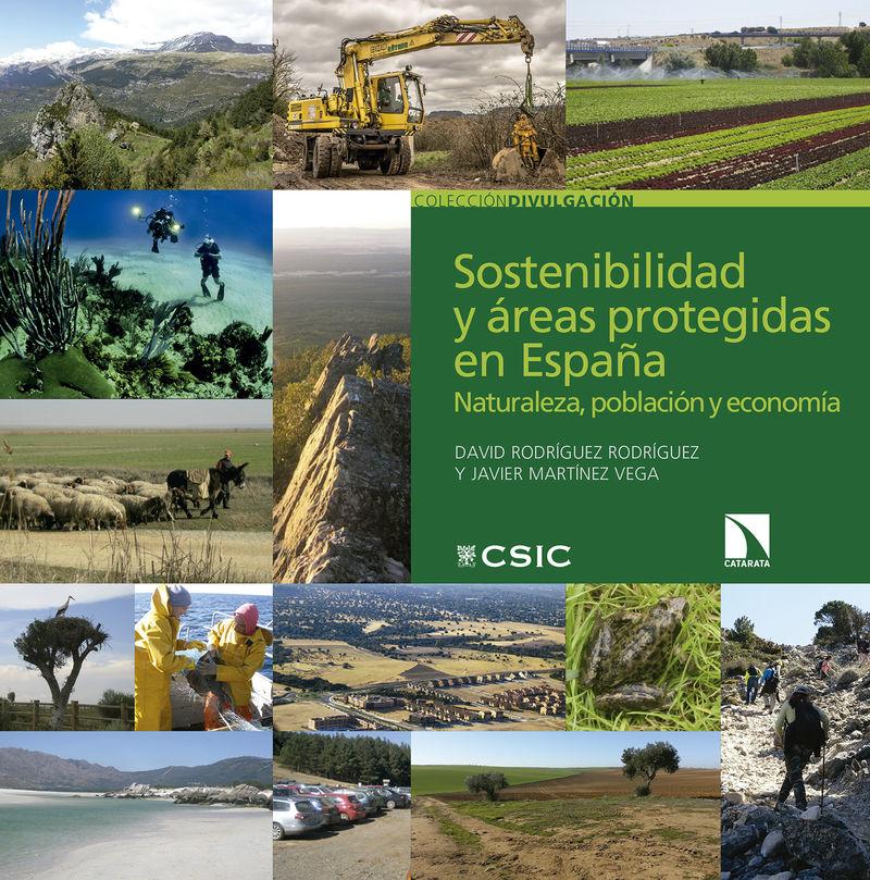 SOSTENIBILIDAD Y AREAS PROTEGIDAS EN ESPAÑA - NATURALEZA, POBLACION Y ECONOMIA