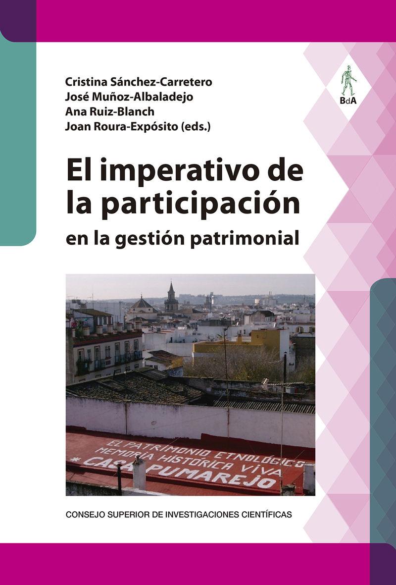 IMPERATIVO DE LA PARTICIPACION EN LA GESTION PATRIMONIAL, EL