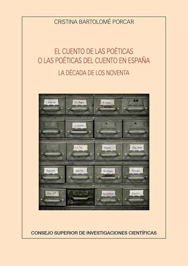 CUENTO DE LAS POETICAS O LAS POETICAS DEL CUENTO EN ESPAÑA, EL - LA DECADA DE LOS NOVENTA
