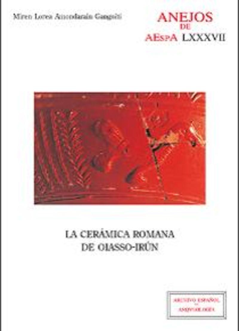 CERAMICA ROMANA DE OIASSO-IRUN, LA
