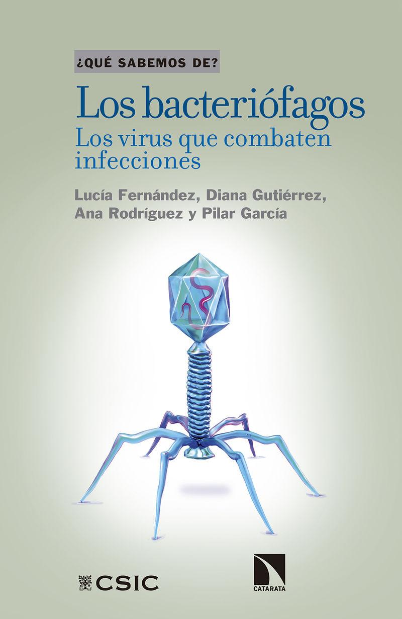 BACTERIOFAGOS, LOS - LOS VIRUS QUE COMBATEN INFECCIONES