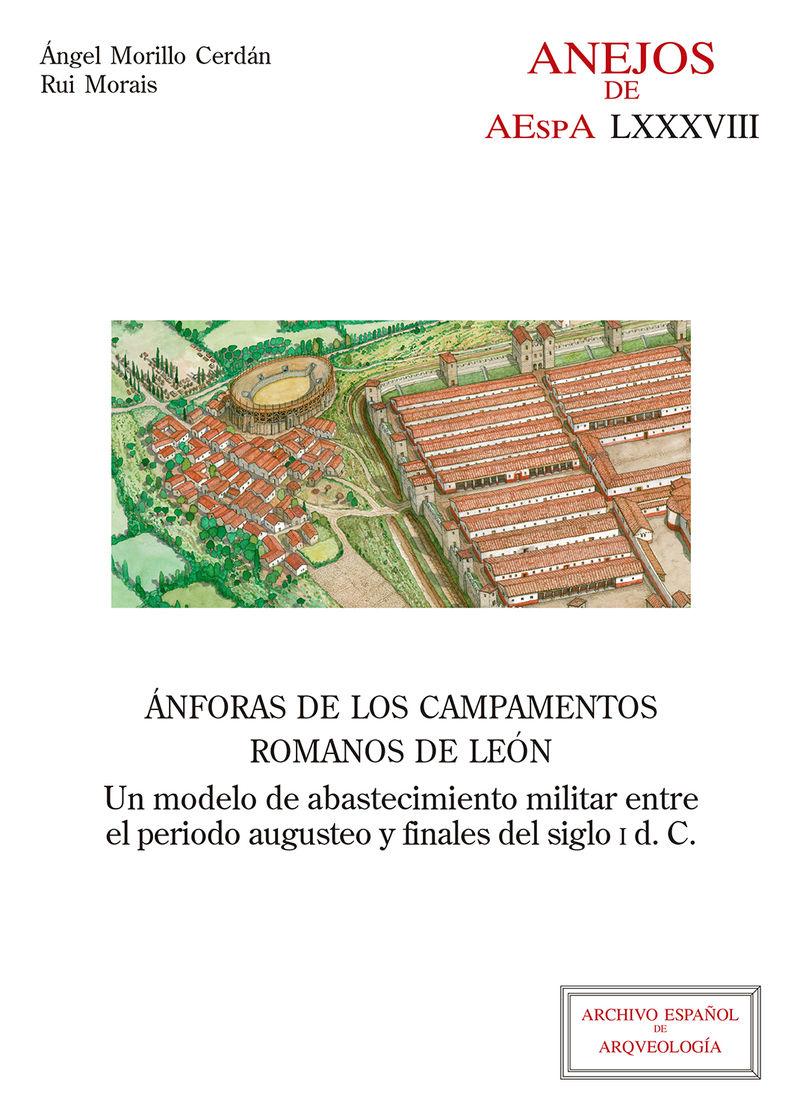 ANFORAS DE LOS CAMPAMENTOS ROMANOS DE LEON - UN MODELO DE ABASTECIMIENTO MILITAR ENTRE EL PERIODO AUGUSTEO Y FINALES DEL SIGLO I D. C.
