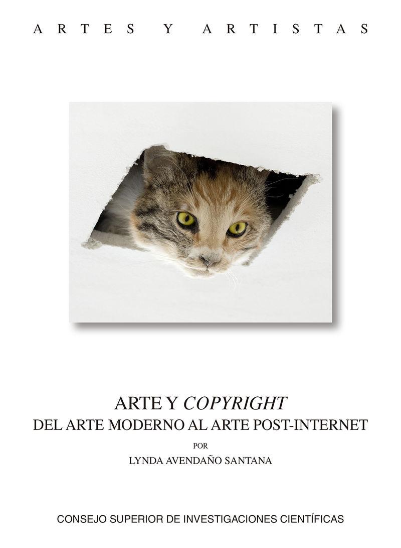 ARTE Y COPYRIGHT - DEL ARTE MODERNO AL ARTE POST-INTERNET