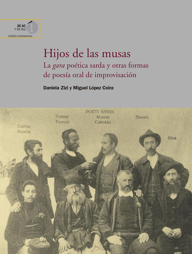 HIJOS DE LAS MUSAS - LA GARA POETICA SARDA Y OTRAS FORMAS DE POESIA ORAL DE IMPROVISACION
