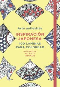 Arte Antiestres - Inspiracion Japonesa. 100 Laminas Para Colorear - Aa. Vv.