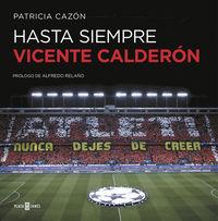 Hasta Siempre, Vicente Calderon - Patricia Cazon