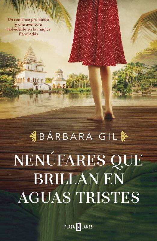 nenufares que brillan en aguas tristes - Barbara Gil