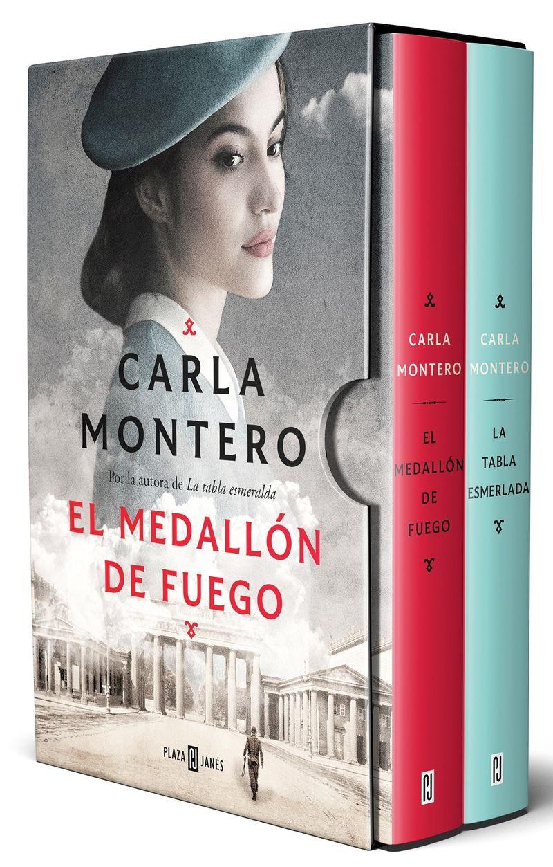 (estuche) carla montero (el medallon de fuego + la tabla esmeralda) - Carla Montero