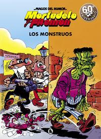 MAGOS DEL HUMOR 22 - MORTADELO Y FILEMON - LOS MONSTRUOS