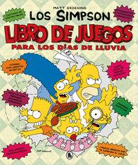 SIMPSON, LOS - LIBRO DE JUEGOS PARA LOS DIAS DE LLUVIA (ACTIVIDADES)