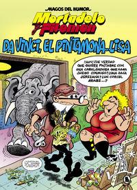 MAGOS DEL HUMOR 198 - MORTADELO Y FILEMON - DA VINCI, EL PINTAMONA. .. LISA