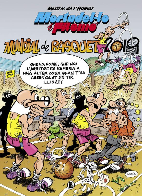 MESTRES DE L'HUMOR 53 - MORTADELO - MUNDIAL DE BASQUET 2019