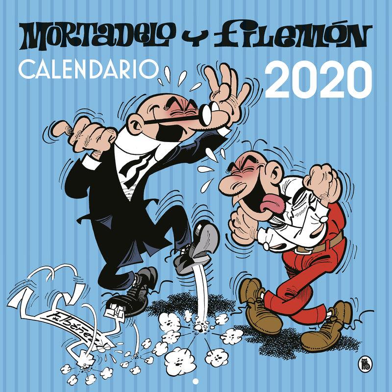 CALENDARIO DE PARED 2020 - MORTADELO Y FILEMON