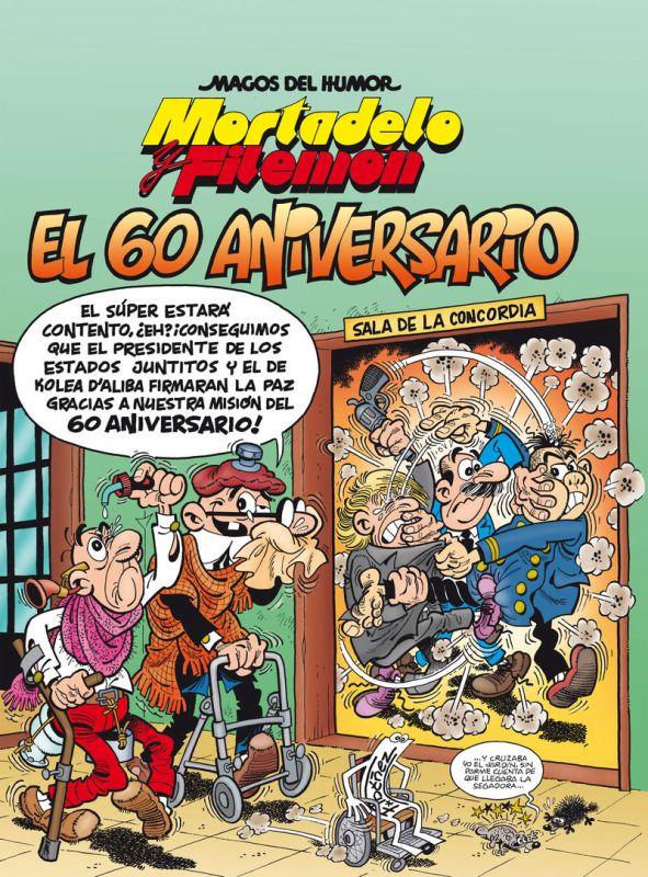 MAGOS HUMOR MORTADELO 182 - 60 ANIVERSARIO