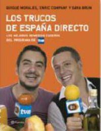 Los Trucos De España Directo Quique Morales Enric Company Sara Brun Elkar Eus