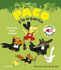 PACO Y LA ORQUESTA - LIBRO MUSICAL
