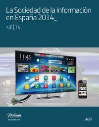 La sociedad de la informacion en españa 2014 - Fundacion Telefonica