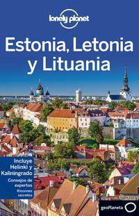 estonia, letonia y lituania 3 (lonely planet) - Peter Dragicevich / Leonid Ragozin / Hugh Mcnaughtan
