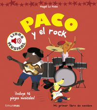 PACO Y EL ROCK - LIBRO MUSICAL
