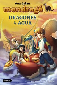 mondrago 3 - dragones de agua - Ana Galan