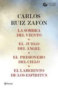 Tetralogía El Cementerio De Los Libros Olvidados (pack) - Carlos Ruiz Zafón