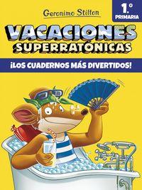 Ep 1 - Vacaciones Superratonicas - Geronimo Stilton - Geronimo Stilton