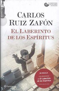 LABERINTO DE LOS ESPIRITUS, EL (+PASAJES Y PAISAJES DE LA NOVELA) (PACK)