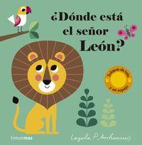 ¿donde Esta El Señor Leon? - Ingela P. Arrhenius