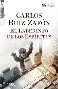 PACK TC EL LABERINTO DE LOS ESPIRITUS (+MUSICA)