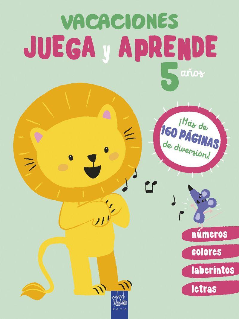 5 AÑOS - VACACIONES - JUEGA Y APRENDE