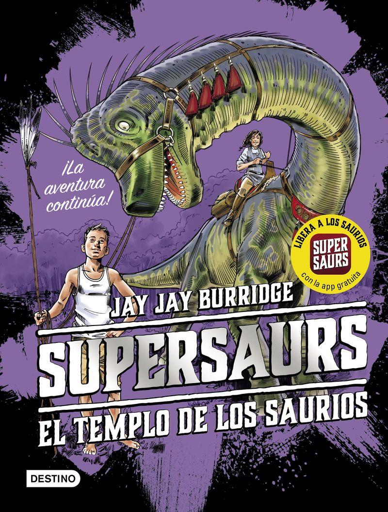 SUPERSAURS 4 - EL TEMPLO DE LOS SAURIOS