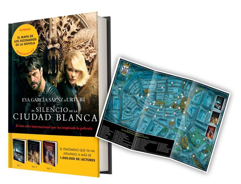 PACK - SILENCIO DE LA CIUDAD BLANCA, EL (+MAPA DE ESCENARIOS)